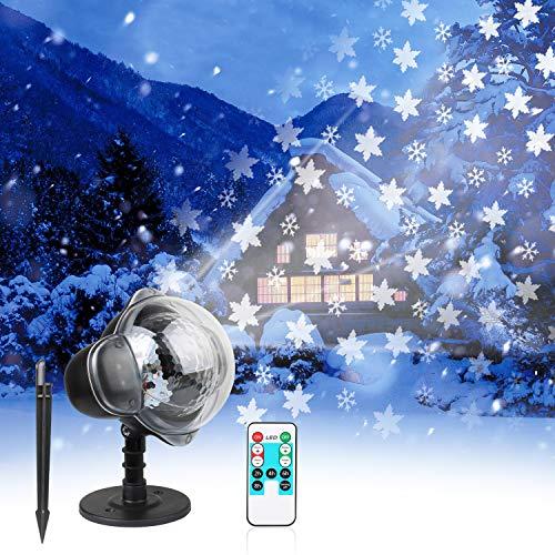 Outdoor Snowflake Laser Lights in US - 9