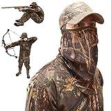 Camo Face Mask Half Mask – Camo Face Masks Hunting Mask – Turkey Hunting Face Mask – Bow Hunting Face Mask Mesh - Duck Hunting Face Mask – Camouflage Face Mask Hunting – DecoyPro