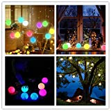 Chakev Floating Pool Lights, 16 Colors Pond LED