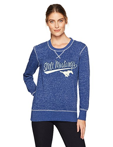 - NCAA SMU Mustangs Women's Ots Seneca Crew Neck Pullover, X-Large, Royal