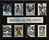NCAA Football Michigan State Spartans All-Time Greats Plaque