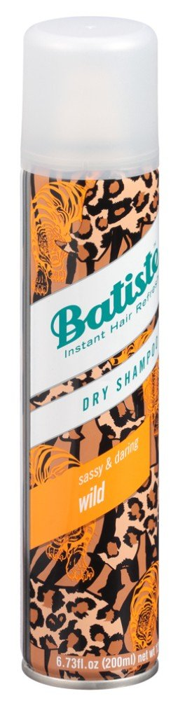 Batiste Shampoo Dry Wild 6.73 Ounce (200ml) (6 Pack) by Batiste