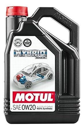 Motul - 107142/74 : aceite lubricante motores hibridos hybrid 0w20 4l: Amazon.es: Coche y moto