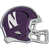 Northwestern Wildcats Auto Emblem - Helmet