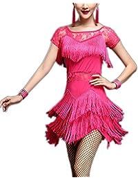 Short Sleeve 1920's Jazz Gatsby Evening Tango Competition Dancewear