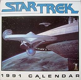 Star Trek 1991 Calendar 9780671709136 Amazon Com Books