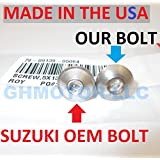 GHMotor 2003 2004 2005 2006 2007 SUZUKI HAYABUSA GSX1300R Complete OEM Style Fairing Bolts Fasteners Screws Kit Set MADE IN USA Silver