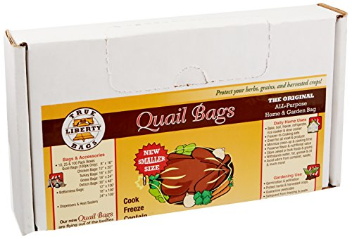 Hydrofarm True Liberty Bags - Quail 100 Pack - All Purpose Home and Garden Bags