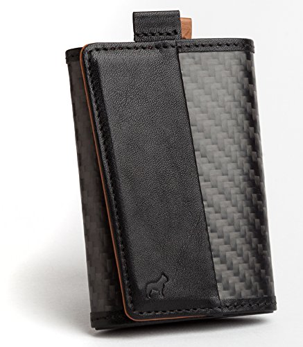 The Frenchie Co. Carbon Fiber Ultra Slim Speed Wallet for Men with RFID Blocking and Super Fast Card Holder Access | 6 Cards