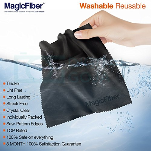 MagicFiber Microfiber Cleaning Cloths, 13 PACK