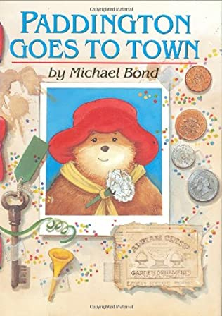 book cover of Paddington Goes to Town