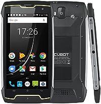 CUBOT King Kong (2018) Android 7 Dual Sim teléfono inteligente Libre, IP68 impermeable, a prueba de golpes y polvo, batería 4400 mAh, GPS + brújula, memoria interna de 2GB + 16GB, Cámara frontal de 13MP / Cámara trasera de 8MP, Pantalla táctil IPS IPS de 5 pulgadas con 10 puntos Función táctil, procesador quad-core de 1.3GHz, Wifi, Bluetooth, Negro