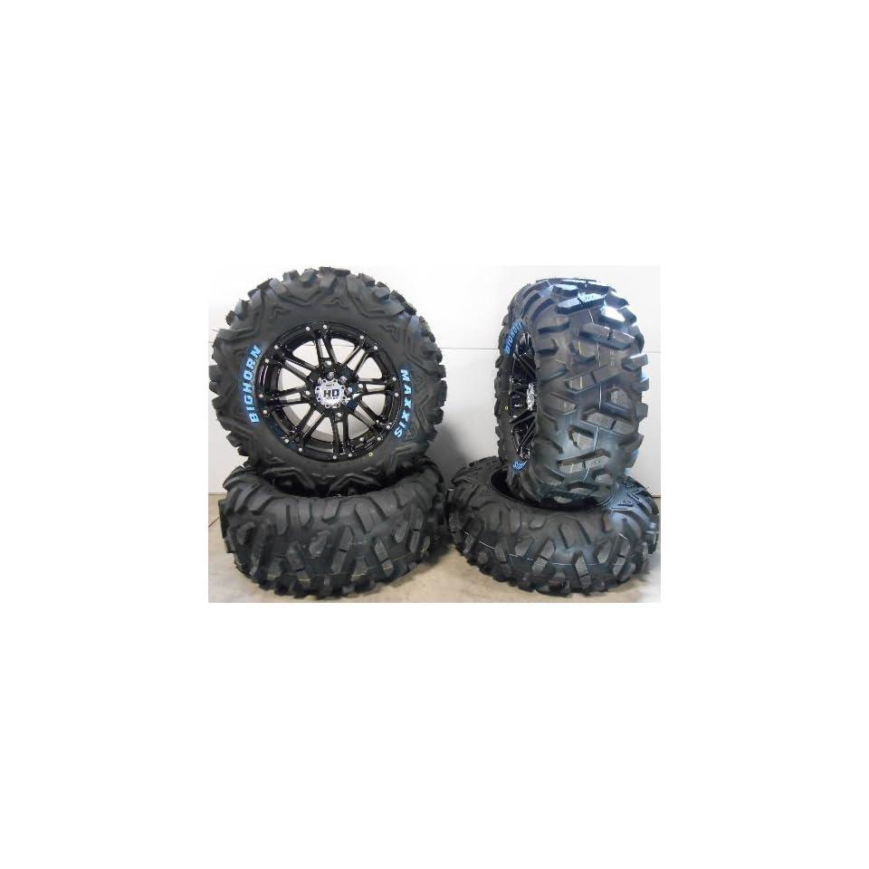 "STI HD3 14"" Wheels Black 26"" BigHorn Tires Polaris RZR 1000 XP / Ranger 900 XP Automotive"