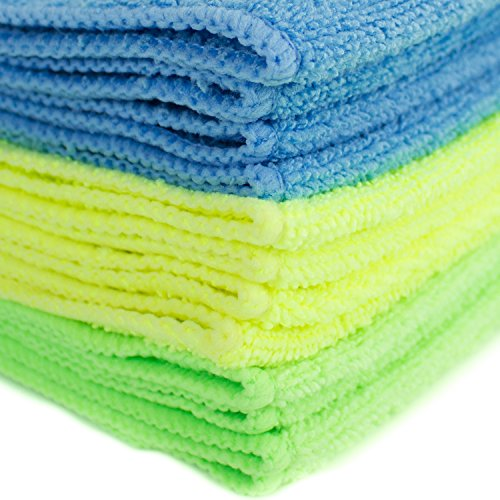 Zwipes 735 Microfiber Towel Cleaning Cloths 12 Pack