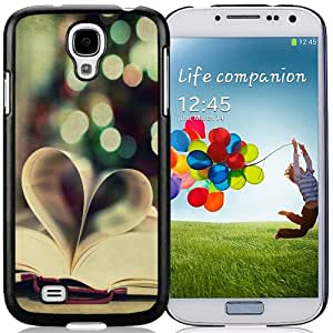 Beautiful Custom Designed Cover Case For Samsung Galaxy S4 I9500 i337 M919 i545 r970 l720 With Creative Book Love 640x1136 Phone Case Cover