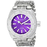 ANDROID Men's AD757BPU Millipede Analog Japanese-Automatic Silver Watch