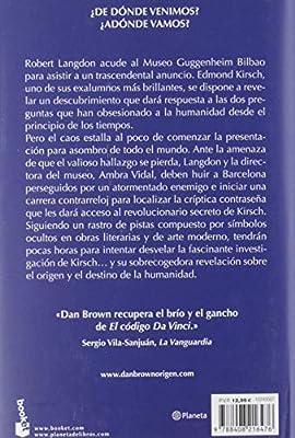 Origen (Colección especial 2019): Amazon.es: Brown, Dan, Montoto ...