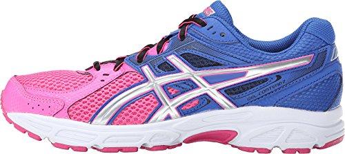 ASICS Women's GEL-Contend? 2 Pink/Silver/Dazzling Blue Sneaker 10.5 B (M)