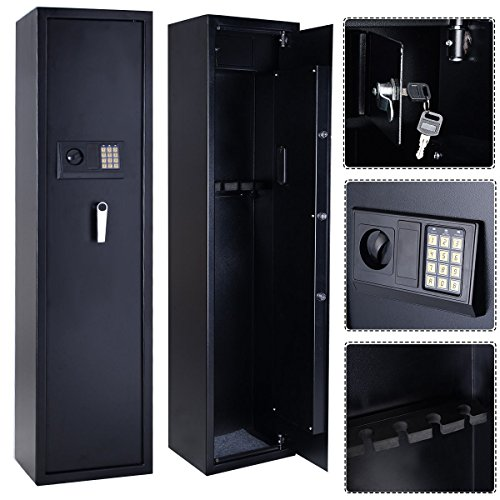 Tek Widget Electronic 5 Gun/Rifle Storage Safe Unit