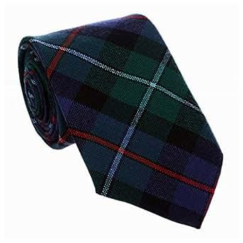 Campbell de cuadros escoceses juego de bridas para diseño con texto de Cawdor 100% de lana