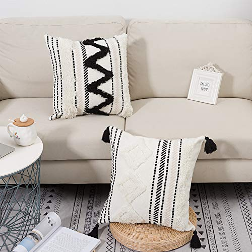 geometric pattern soft jacquard fabric lumbar pillow cover boho decor pillow cover 12 x 36 inch  bedding pillow cover ethnic pillow cover