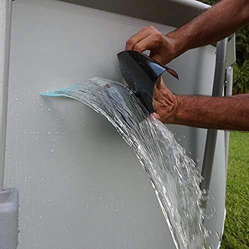 Dumas US Warehouse - Super Strong Flex Leakage Repair Waterproof Tape for Garden Hose Pipe Water tap Bonding Rescue Quick Repairing Quickly Stop Leak - (Color: Black)