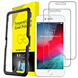 JETech Screen Protector for Apple iPhone 8 Plus, iPhone 7 Plus, iPhone 6s Plus, iPhone 6 Plus, 5.5-Inch, Tempered Glass Film with Easy-Installation Tool, 2-Pack