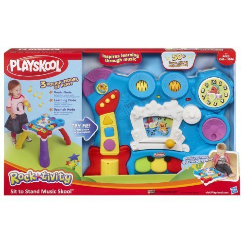 Playskool Rocktivity Sit To Stand Music Skool Toy Toy, Kids, Play, Children image