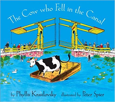 Book By Phyllis Krasilovsky The Cow Who Fell in the Canal (New edition)