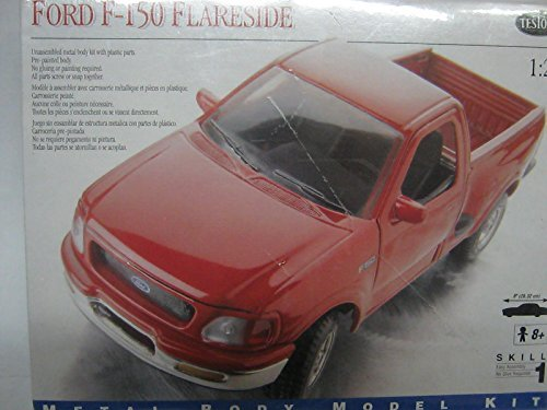 Auto Flareside (Ford F-150 flareside 1:24 scale model kit)