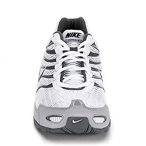 Nike Herren Air Max Torch 4 Laufschuh Weiß / Anthrazit-Wolf Grau-cooles Grau