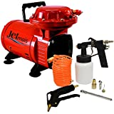 Compressor de Ar com Kit 1/3HP JETMAIS 110/220V Monofásico - Motomil