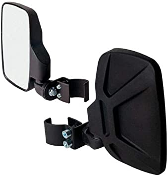 Seizmik Strike Side View Pro Fit Breakaway Mirrors Pair UTV Polaris 18093