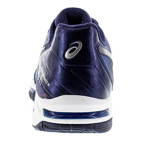Asics Gel Solution Speed �? Limited Edition Herren Tennisschuh von Paris Imperial / Indigo Blue / Vermilion
