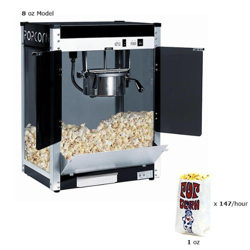 (Paragon Contempo Pop 4 Ounce Popcorn Machine for Professional Concessionaires Requiring Commercial Quality High Output Popcorn Equipment )