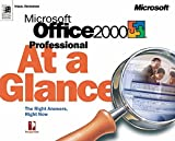 Best At-A-Glance Books Of Julies - Microsoft Office 2000 Professional at a Glance Review