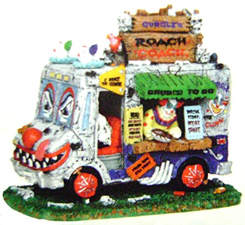 Lemax 43103 Gurgle's Roach Coach Spooky Town Table Accent Halloween Decor Killer -