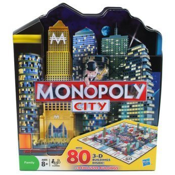 Monopoly City Collector's Edition in City Shaped Collectible Tin by Hasbro