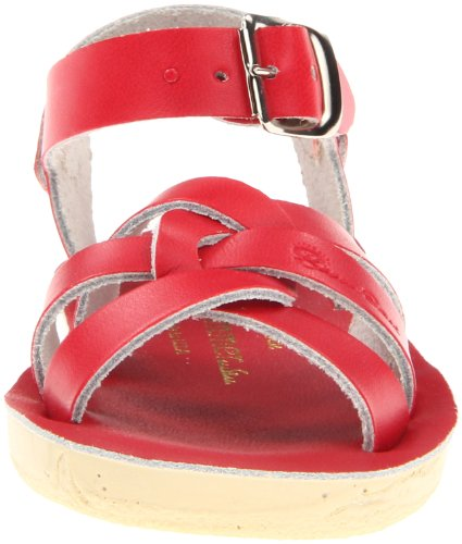 Little Hoy Sandal Toddler Sandals Strappy Big Salt by Shoe Kid Water Kid Red Women's Sf6tn81