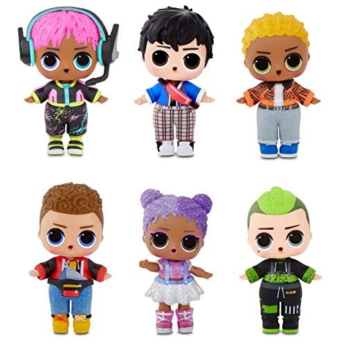 ¿ Cuantos LOL Boys Arcade Heroes hay y como se llaman ?