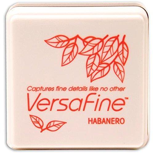 Tsukineko Small-Size VersaFine Instant Dry Pigment Ink, Habanero