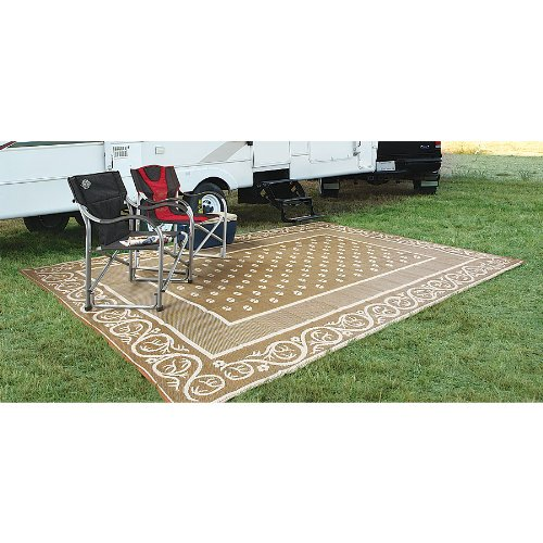 Guide Gear Reversible 9' x 12' Outdoor Rug Scroll Pattern - Outdoor Patio Rugs: Amazon.com
