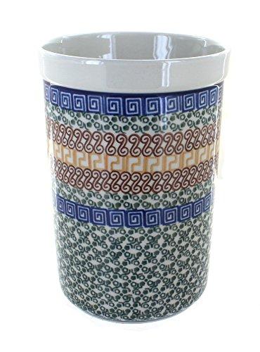 Polish Pottery Athena Utensil Jar