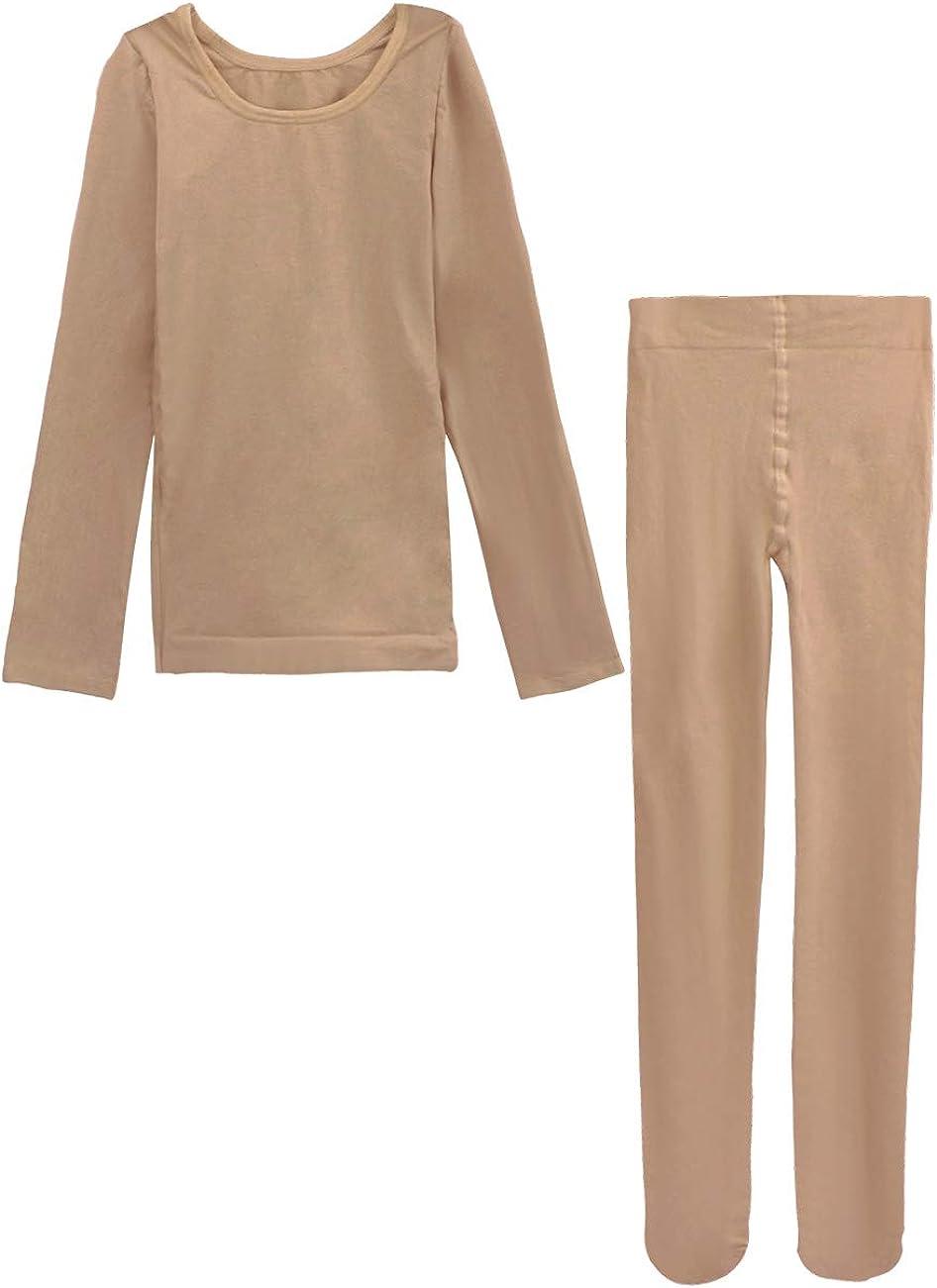 Amazon.com: Daydance Kids Girls Base Layers Set Tan Active Undergarments  for Dance: Clothing