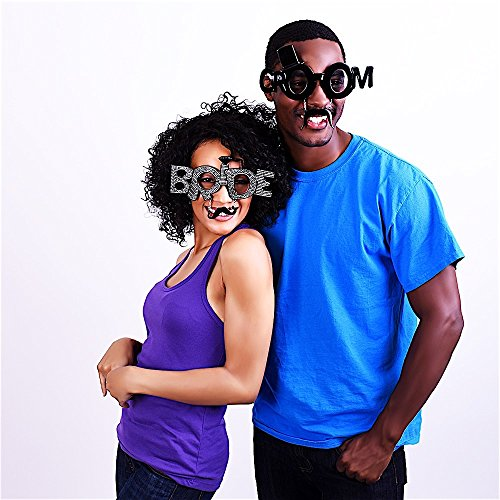 Sunstaches The Groom Sunglasses, Instant Costume, Party Favors, UV400 - http://coolthings.us