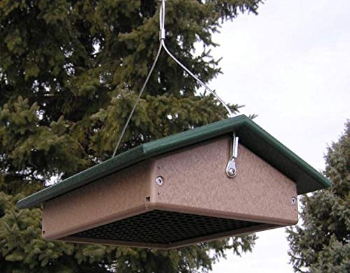 JMX Brands Inc Amish Poly Large Upside Down Suet Bird Feeder
