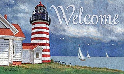 Lang-3210027-Lighthouse-Door-Mat-by-Betty-Whiteaker-30-x-18
