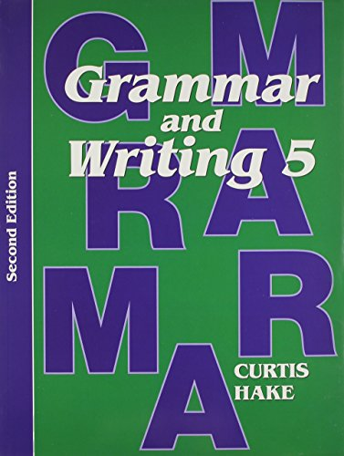 Saxon Grammar & Writing 2nd Edition Grade 5 Kit