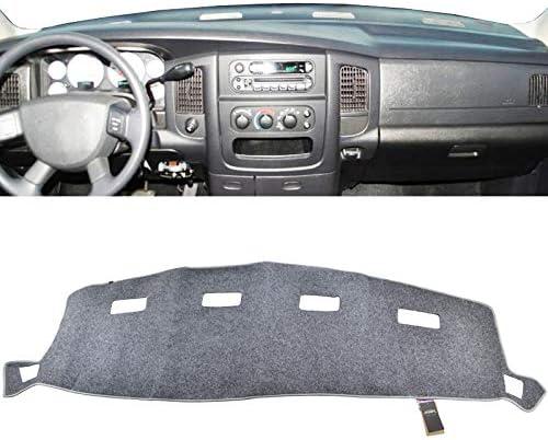 XIANGSHAN Dash Mat Dashmat Dashboard Couverture Sun Shade Dash Board Tapis Couverture for Dodge Ram 1500 2500 3500 1994-1997 Color Name : Black