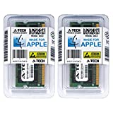 A-Tech For Apple 8GB Kit 2 x 4GB Mac mini iMac MacBook Pro MacBook Late 2009 Mid 2010 MC516LL/A A1342 MC374LL/A A1278 MC375LL/A MB950LL/A A1311 MB952LL/A A1312 MB953LL/A MC270LL/A A1347 Memory RAM